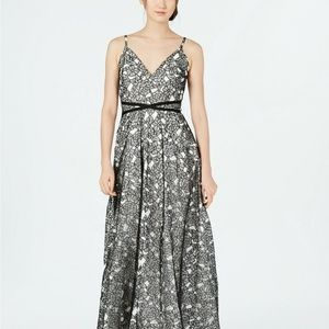 NWT Calvin Klein Floral Lace Gown (Size 2,10)